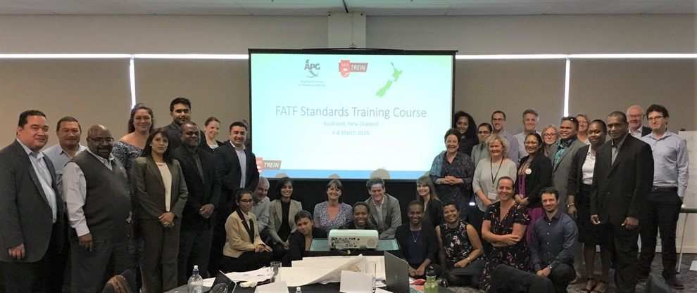 Regional Pacific FATF Standards Training Course, Auckland, New Zealand