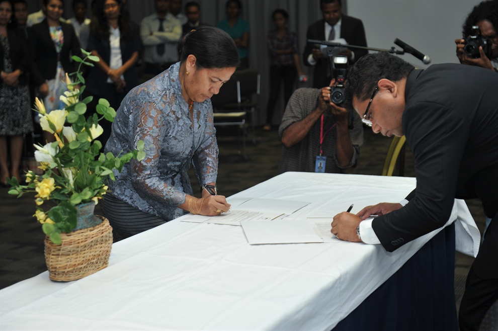 Inauguration of Timor-Leste FIU