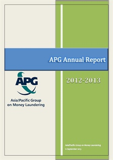APG Annual Report 2012-2013 published