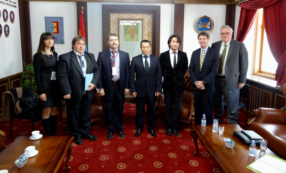 APG and EAG meet with Mongolian Minister of Justice